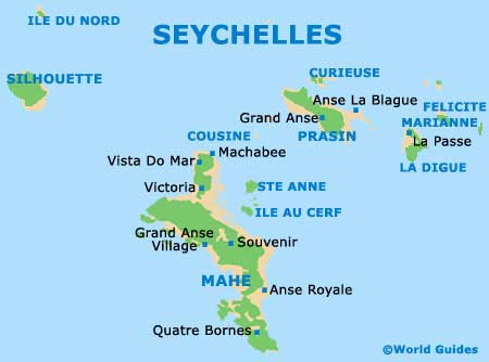 Small Seychelles Map