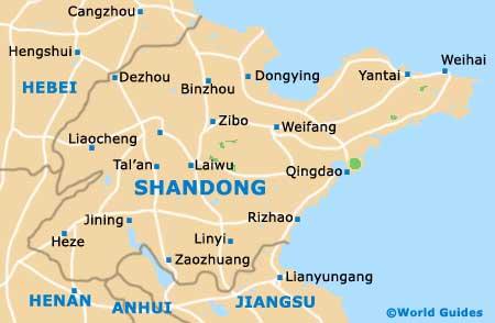 Shandong Map