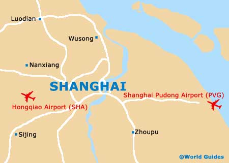 Small Shanghai Map