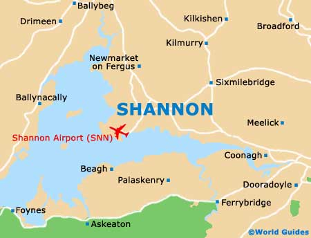 map of ireland shannon airport Map Of Shannon Airport Snn Orientation And Maps For Snn Shannon map of ireland shannon airport