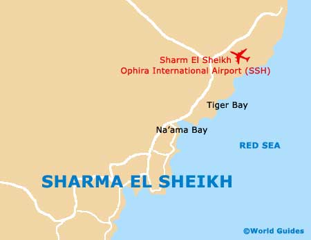 Small Sharm el Sheikh Map
