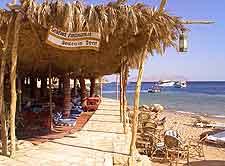 Photo of beachfront dining venue