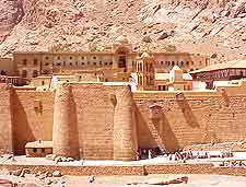 Different picture of St. Catherine's Monastery