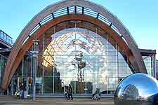 Image showing the modern Winter Gardens