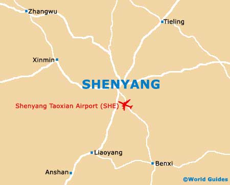 Small Shenyang Map