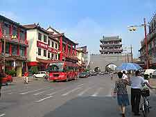 View of central street