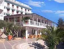 Photo of luxury accommodation in the popular resort of Cefalu