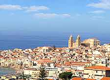 Rooftop picture of Cefalu, Sicily