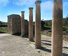 Picture of the Imperial Roman Villa (Villa Romana Imperiale) on the Piazza Armerina, Casale, Sicily
