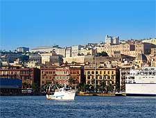 Cagliari waterfront view, photo by Cristianocani