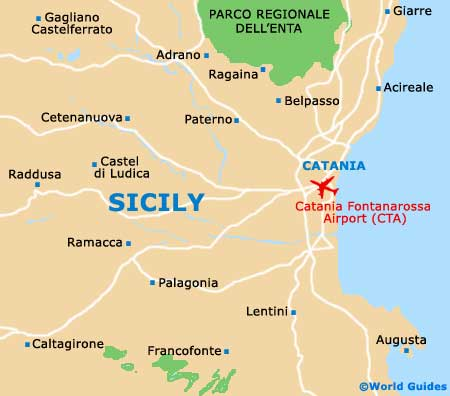 Sicily On Map Of Italy.Sicily Maps And Orientation Sicily Sicilia Italy