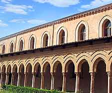 Picture of palatial architecture at Monreale Abbey