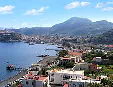 Further view of the coastal attractions on Lipari, off Sicily's northern coast