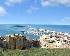 Photo showing Sciacca, a quiet seaside town in western Sicily