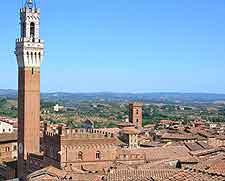 Picture of the famous Torre del Mangia