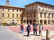 Picture of central Montepulciano