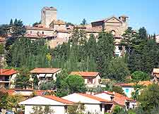 Picture of the medieval village of Radda