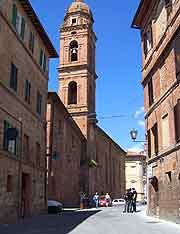 Picture of the historic Old Town district