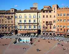 Picture of the Piazza del Campo