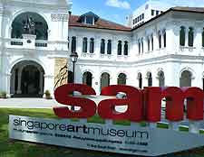 Photograph of the Singapore Art Museum (SAM), Bras Basah Road