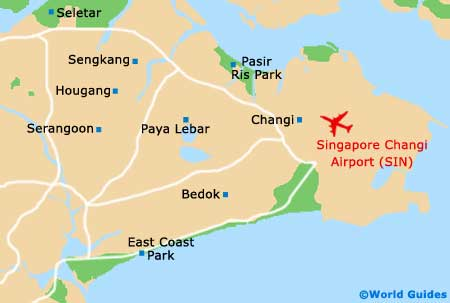 Singapore Changi Airport Map