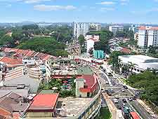 Aerial view of Holland Village, near the Buona Vista MRT (Mass Rapid Transit) Station