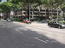 Picture showing local transport using Orchard Road