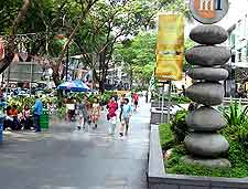 View of Orchard Road, Singapore City