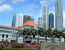 Singapore Parliament House picture