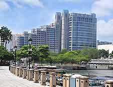 Image of waterfront promenade in Singapore City