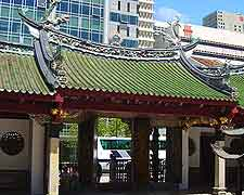 Image of the Thian Hock Keng Temple