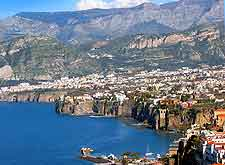 Aerial photo of Sorrento