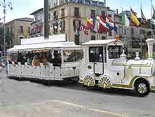 Picture showing the ever-popular Tourist Train
