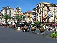 Picture of the Piazza Tasso