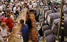Picture of the Southampton Beer Festival in June