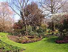 Picture of a city park in spring
