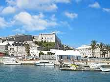Picture of Bermuda's waterfront prison