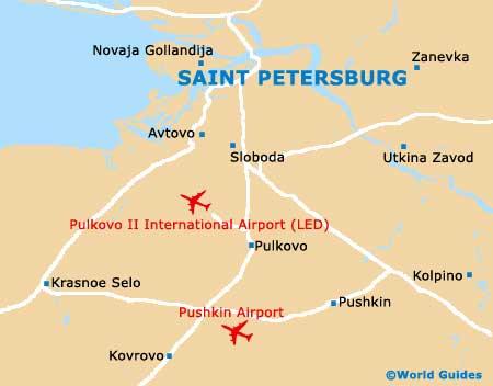 St Petersburg Landmarks and Monuments St Petersburg North