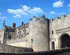 Photo of gate to Stirling Castle