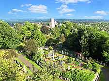 Castle view, showing Stirling's cemetery