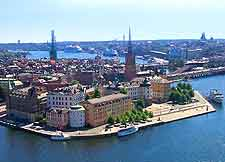 Picture of the Stockholm Gamla Stan (Old City)
