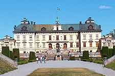 Image of the stately Drottningholm Palace