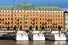 Picture of the luxury Grand Hotel in Stockholm