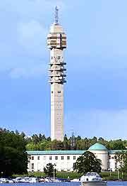 Stockholm's Kaknastornet (Kaknas Tower) photo