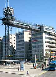 Picture of the city's Katarinahissen (Katarina Lift)