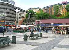 Photo of local shops in the city centre