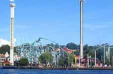 Image showing the Tivoli Grona Lund theme park