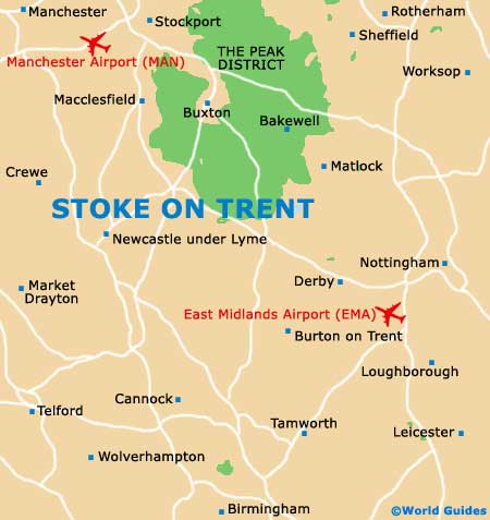 Small Stoke on Trent Map