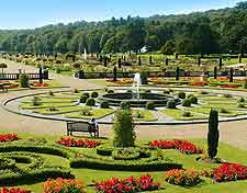 Photograph of the breathtaking formal Trentham Gardens