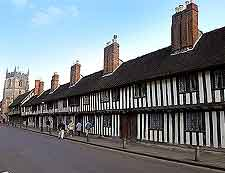 Picture of the 15th-century Almshouses